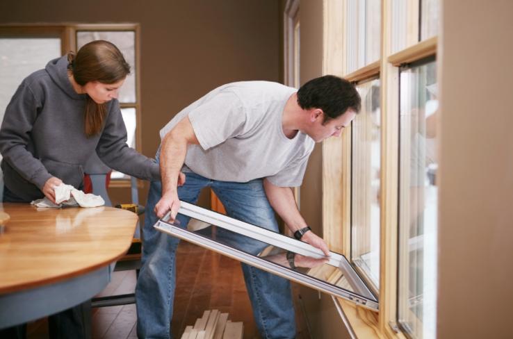 Installing energy efficient windows