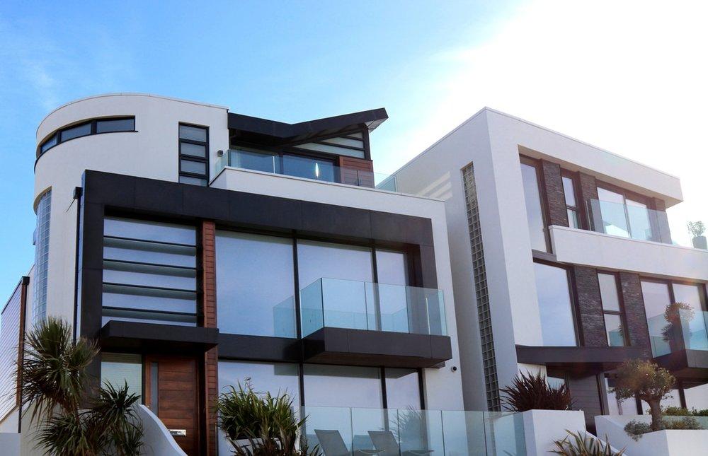 stylishly designed house