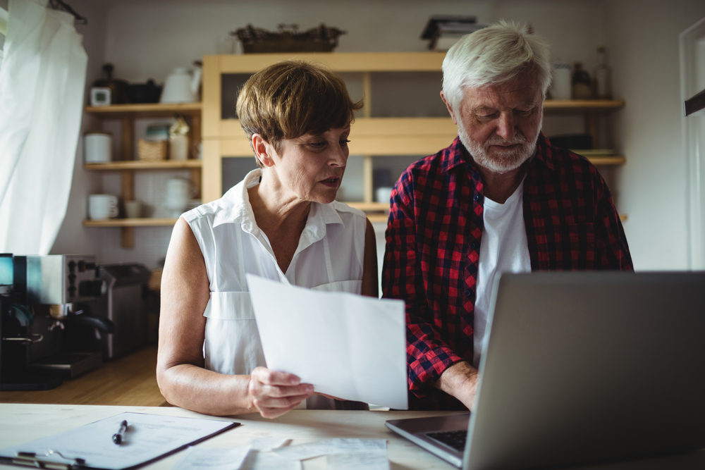 Elderly Couple with a Reverse Mortgage