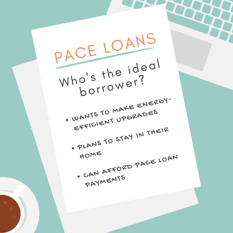 PACE loans beneficiary note graphic