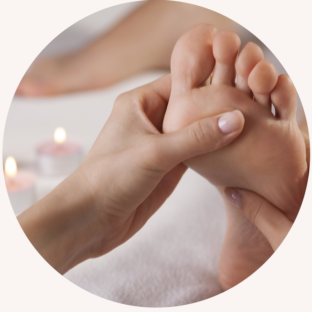 Louise Swaby provides Reflexology & Foot Health treatments.