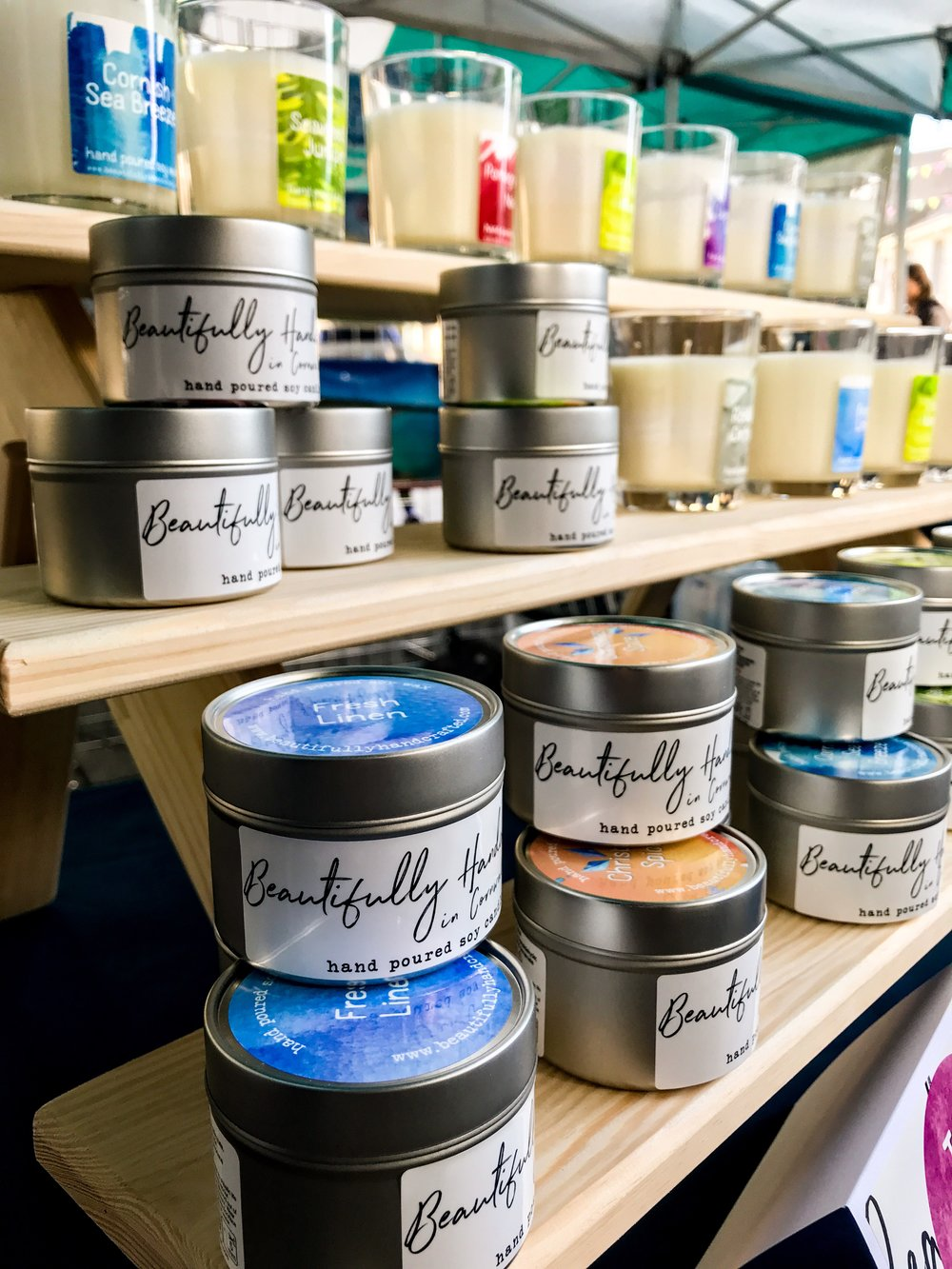 Our beautiful range of natural soy candles look fantastic but smell even better!