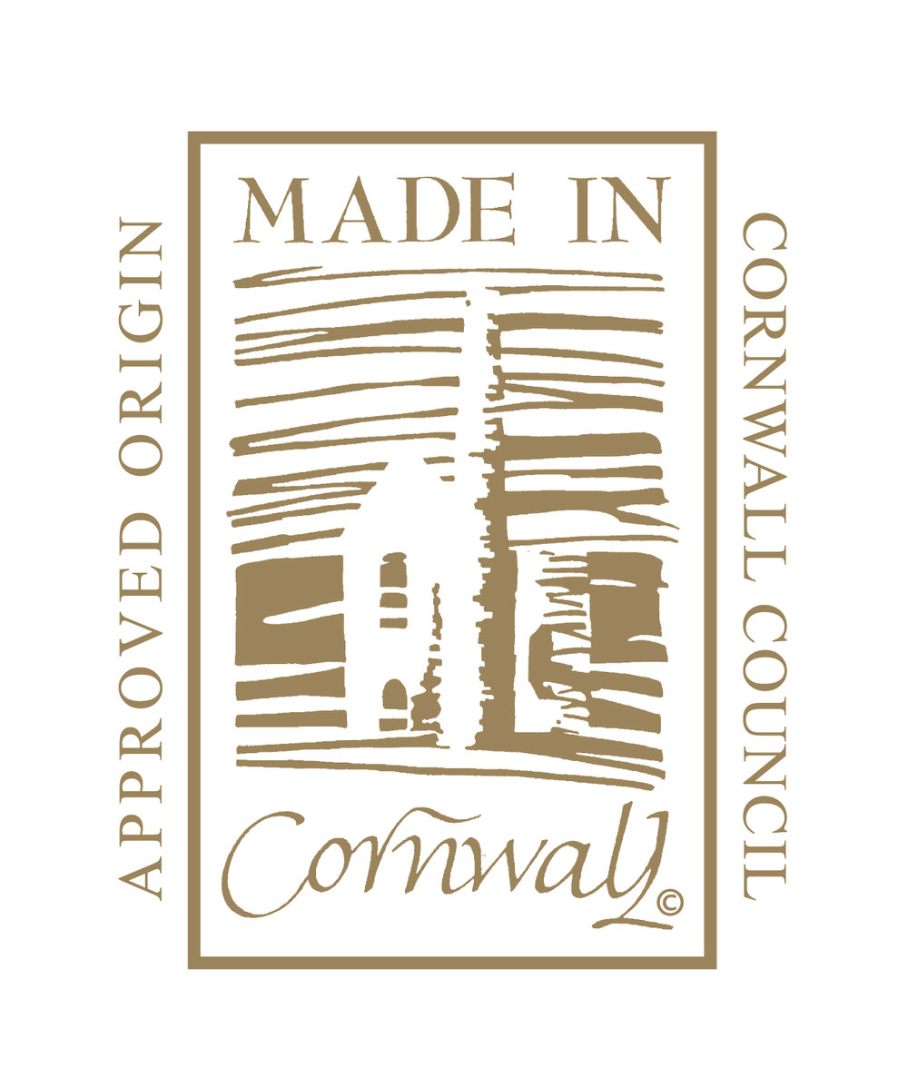 We're proud to have all of our products certified Made in Cornwall. -
