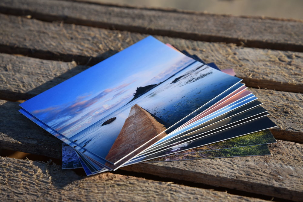 A selection of our stunning Notecard range.