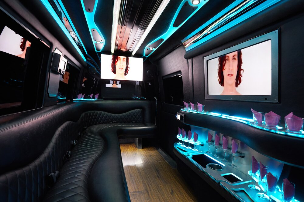 Mercedes-Benz Party Bus Interior