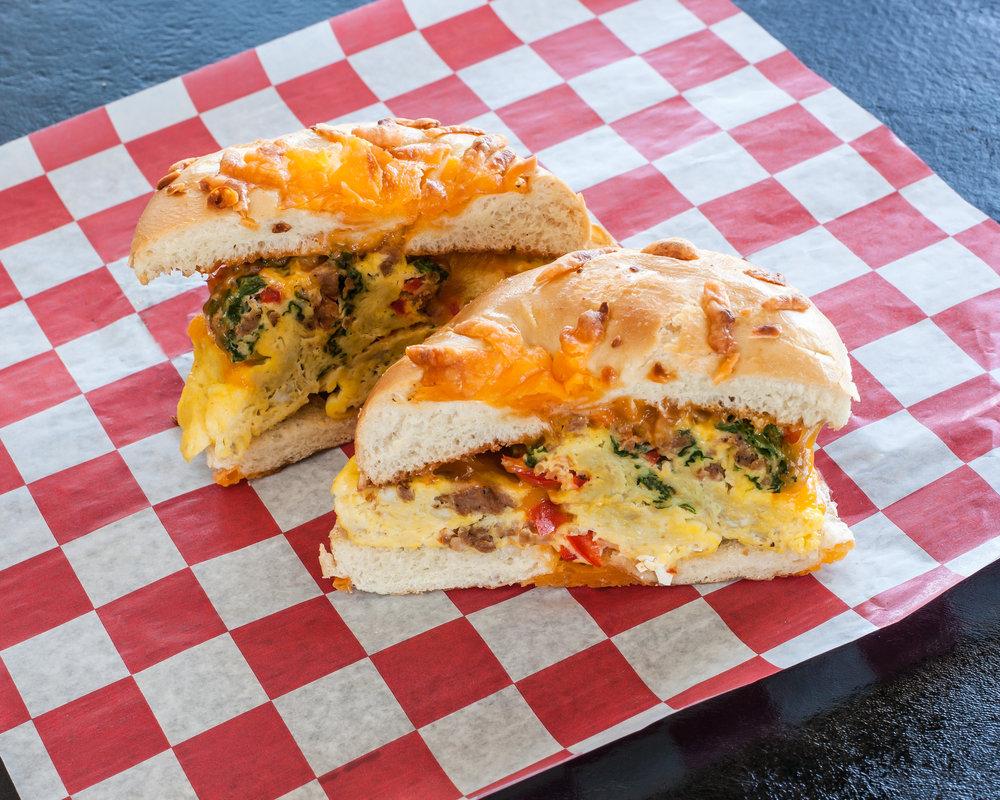 Egg Bagel Sandwich
