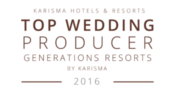 Top Wedding Producer Generations Resort - Luxury Vacation Agent