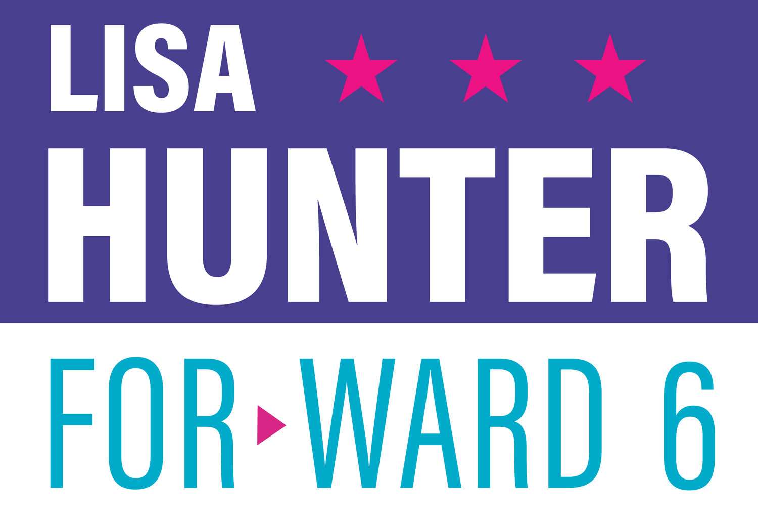 Lisa Hunter for Ward 6
