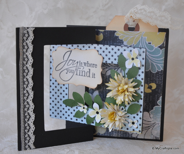 Joy Fancy Fold Card
