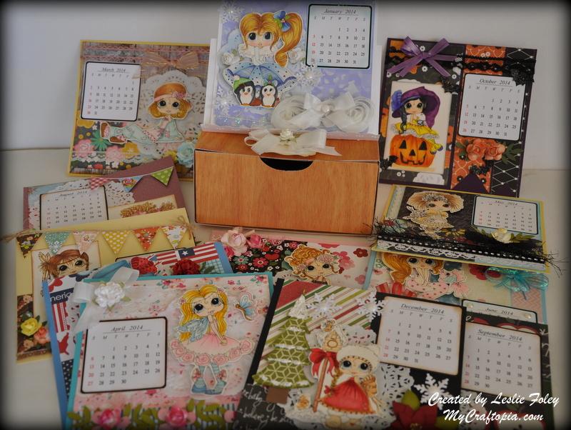 2014 Desk Calendar
