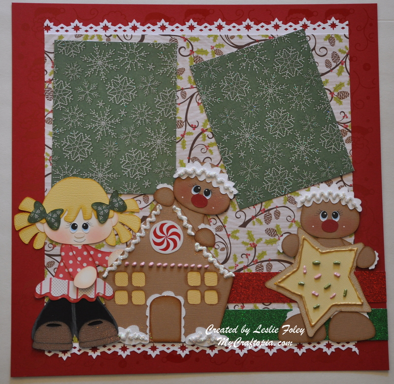 Gingerbread Story Page