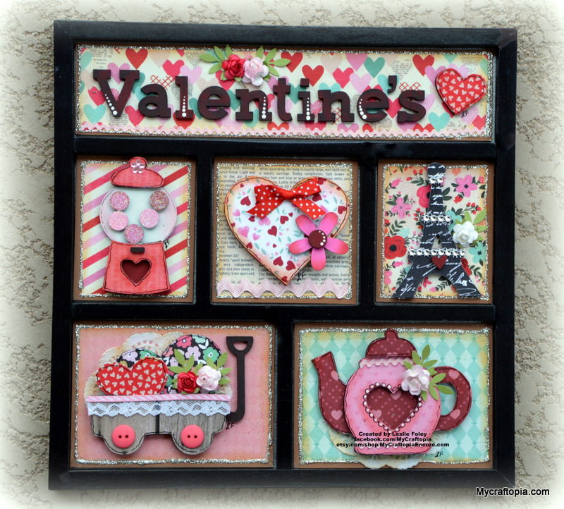 Valentine's Shadow Box