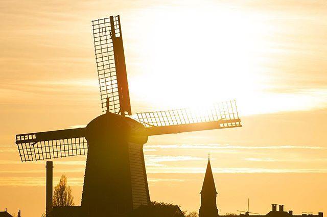 Following where the wind blows.  What a beautiful dawn in the city of tulips! . . . . . #windmill #visitnetherlands #amsterdam #beautifulsunset #europe #ig_europe #unlimitedeurope #letsgoeverywhere #travelgram #travelphotography #travelandlife #nakedplanet #roamtheplanet #worlderlust #welivetoexplore #exploretocreate #createexplore #artofvisuals #neverstopexploring #doyoutravel #justgoshoot #agameoftones #worldtravelbook #natgeotravelpic #cntraveler #passionpassport #tlpicks #bbctravel #beautifuldestinations #stayandwander