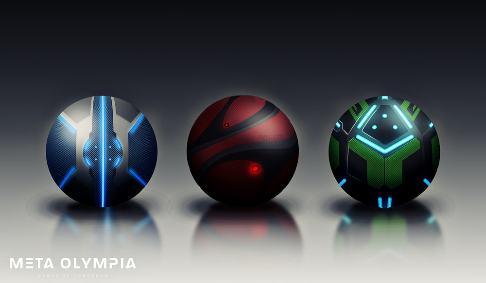 Balls can come in a variety of aesthetic designs. *It is forbidden for Ball systems to engage during regulation play with the exception of passive support (data collection) and referee support (including active play-back and Auto-ball-return functionality).