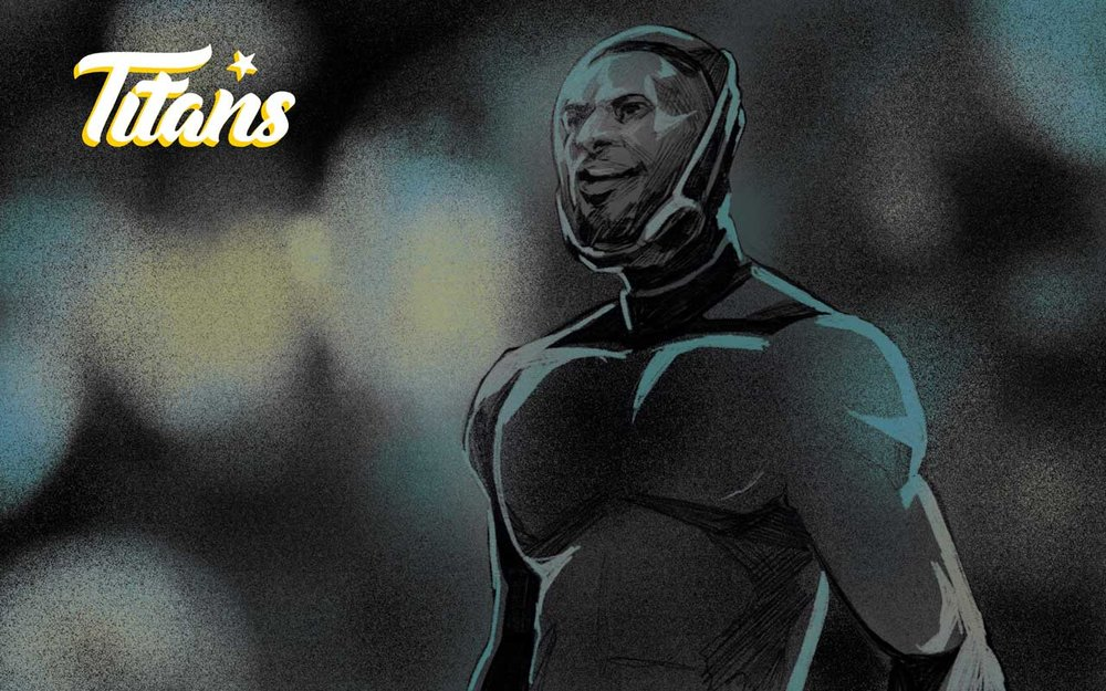 Titans #8 Readale Nash scores his 8th of the season as San Olympus takes the match at Amrita.
