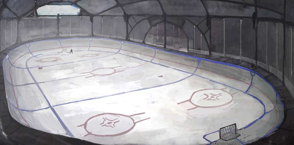 Ice Sport Mars Organization presented their new rinks near Noviymir, Mareotis, and Korolev.