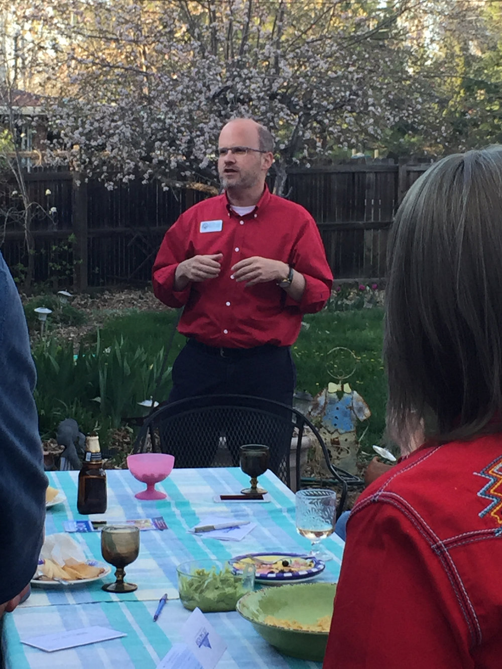We have attended multiple house parties and meet and greets over the last 9 months.I love meeting voters and their friends in their homes and talking to them about what THEY want in a treasurer.