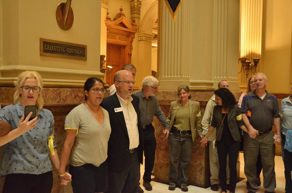 Ralley at the capitol to stop the seperation of children from their parents at the border