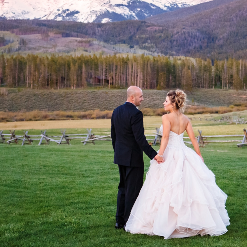 Katie & Conner - DEVIL'S THUMB RANCH, TABERNASH, COLORADO