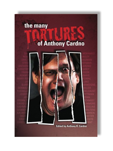 "THE MANY TORTURES OF ANTHONY CARDNO is a short story anthology in which every story features a main character named Anthony Cardno or some slight variation thereof. Authors who donated their stories include Mary Robinette Kowal, Christie Yant, Damien Angelica Walters, Joseph Pittman, Christopher Paul Carey, Kaaron Warren, Steve Berman, and Sabrina Vourvoulias. Also included is ""Cold Statues,"" one of the last original stories Jay Lake wrote before his untimely passing. All proceeds will be donated to the American Cancer Society. Available on  AMAZON ."