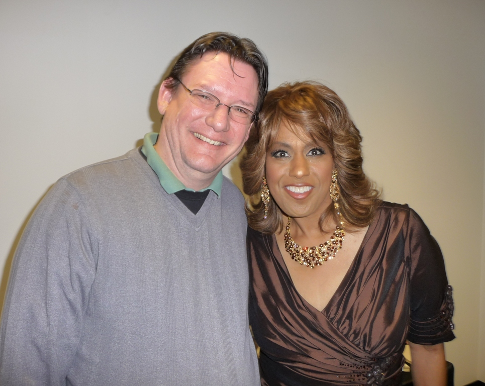 Jennifer Holliday and Anthony Cardno, Photo by Meg Radliff