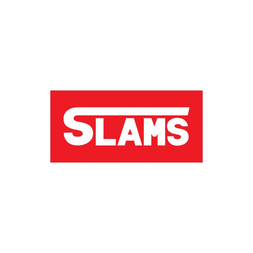 """Slams"" Skateboard Business Logo"
