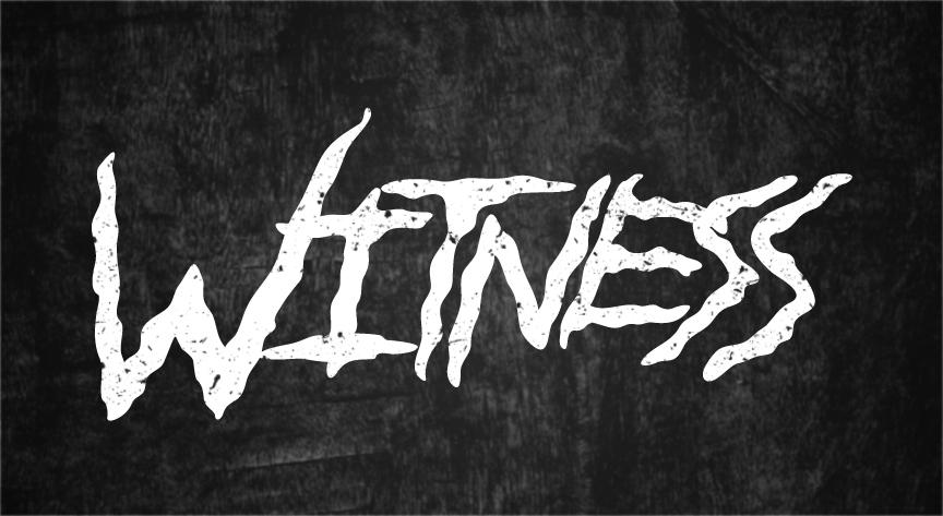 """""""Witness"""" Band Logo"""