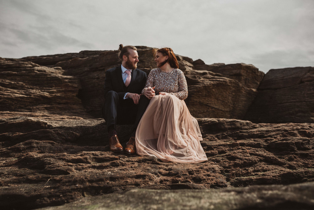 alternative cheshire wedding photographer