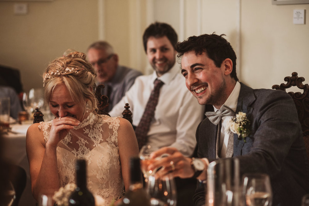 wedding speeches natural reactions