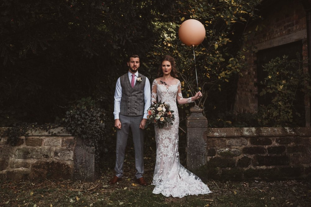 alternative untraditional cheshire wedding photographer