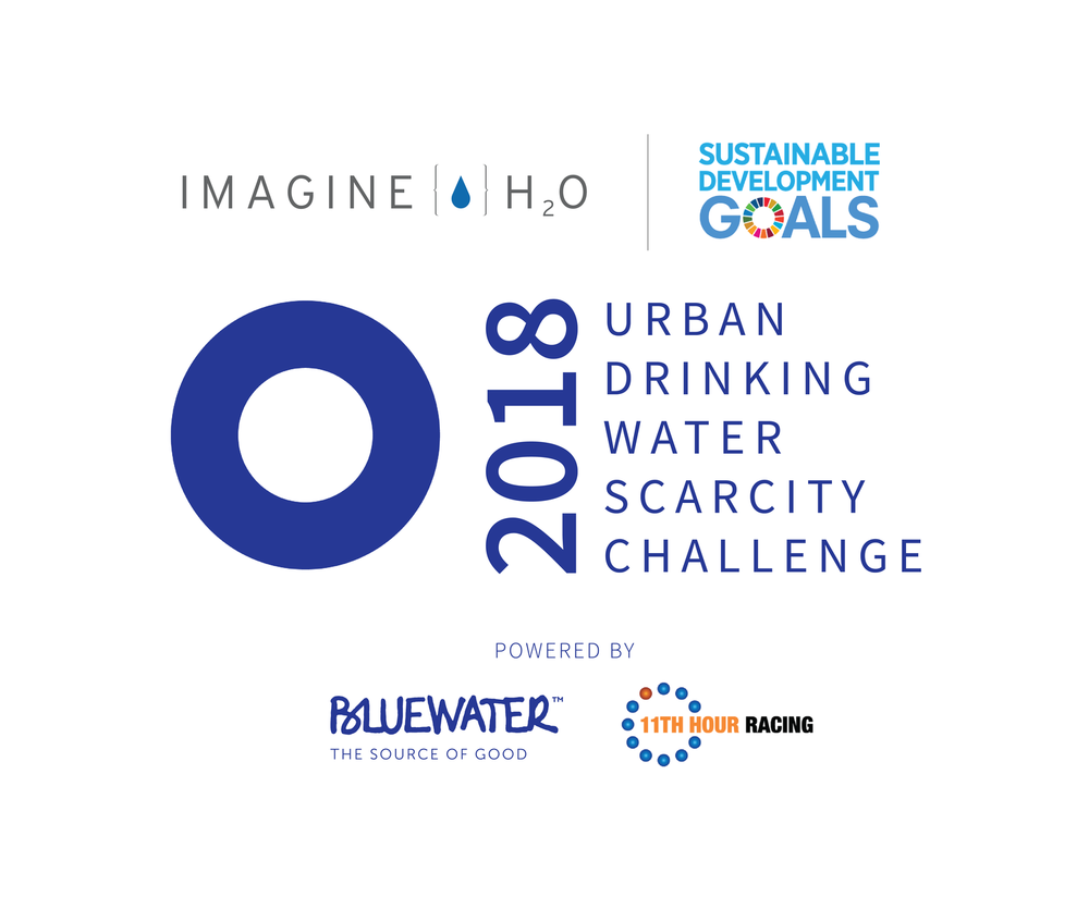 - Imagine H2O's $1 Million USD initiative to identify and deploy solutions to urban waterchallenges globallySeeking solutions in Alternative Supply, Distributed Access and Delivery, and Ecosystem HealthWinners Announced atStockholm World Water Week 2018