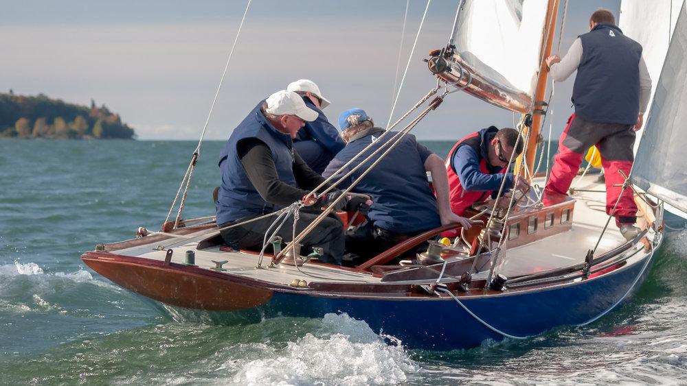 R-Class Boat crew