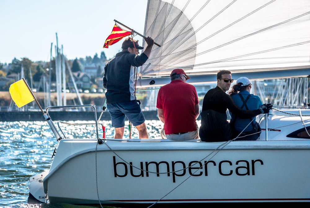 Match racing protest