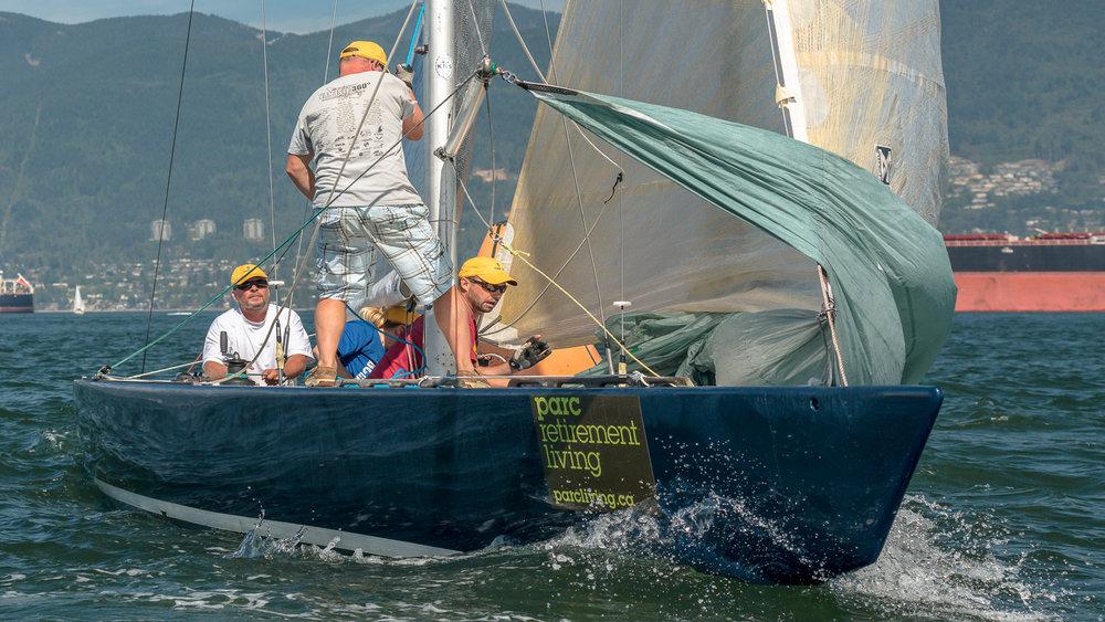 6 Metre crew sets sails