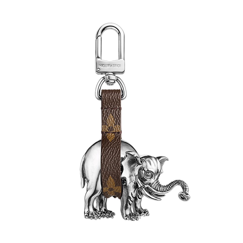 ELEPHANT BAG CHARM - €450 $775MP2037MONOGRAM