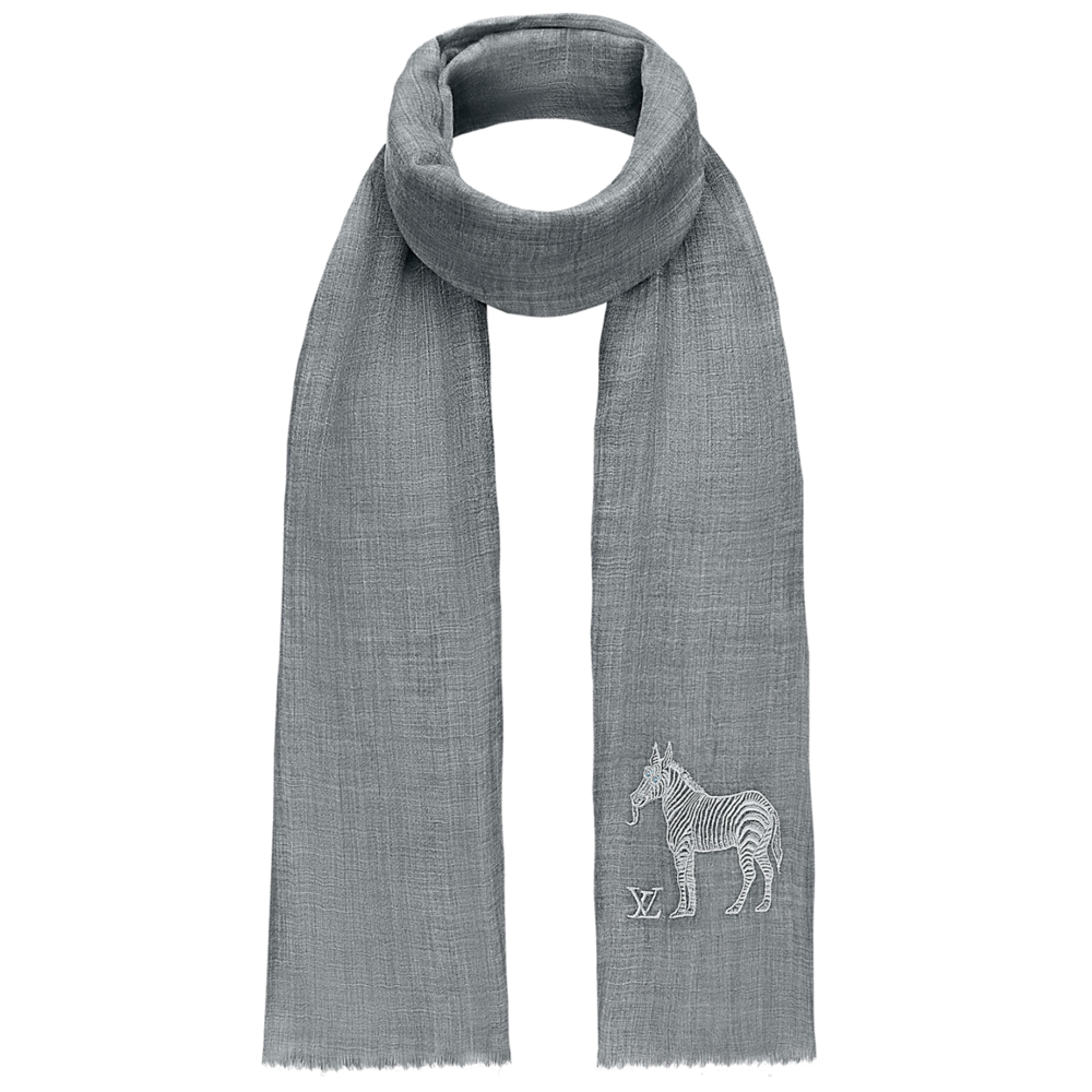 CHAPMAN EMBROIDERED STOLE - €615 $900MP2041ZEBRA