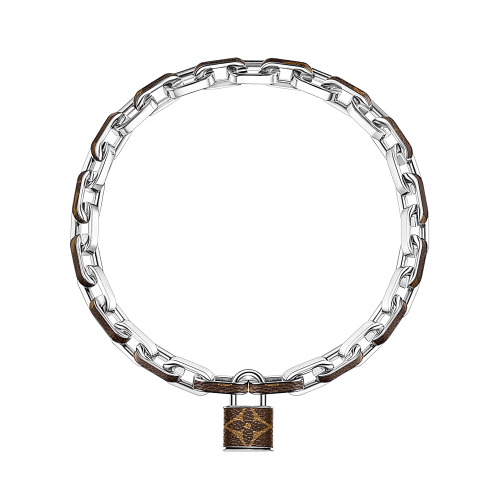 MONOGRAM LOCK NECKLACE - €795 $1180MP2029MONOGRAM