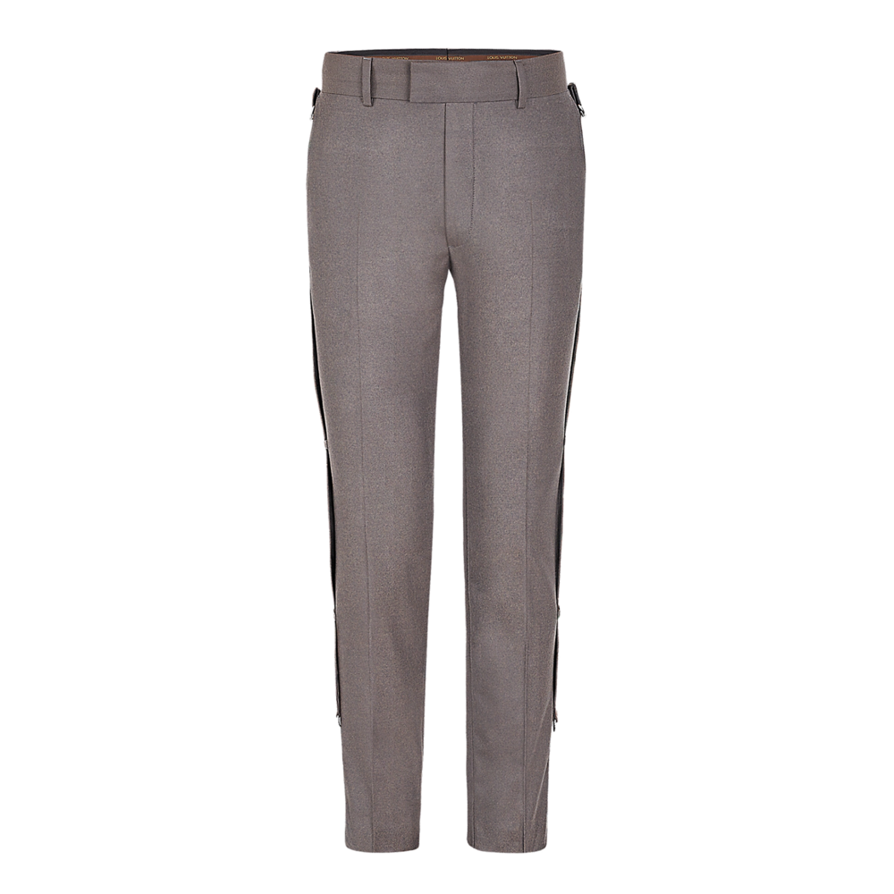 MILITARY BAND TROUSERS - €1100 $14401A2QF7GRIS SOURIS