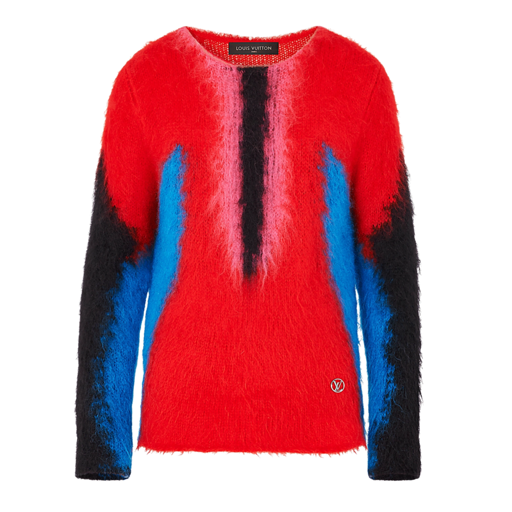 SPRINGBOK MOHAIR SWEAT - €690 $9051A2RB2ROUGE VIF