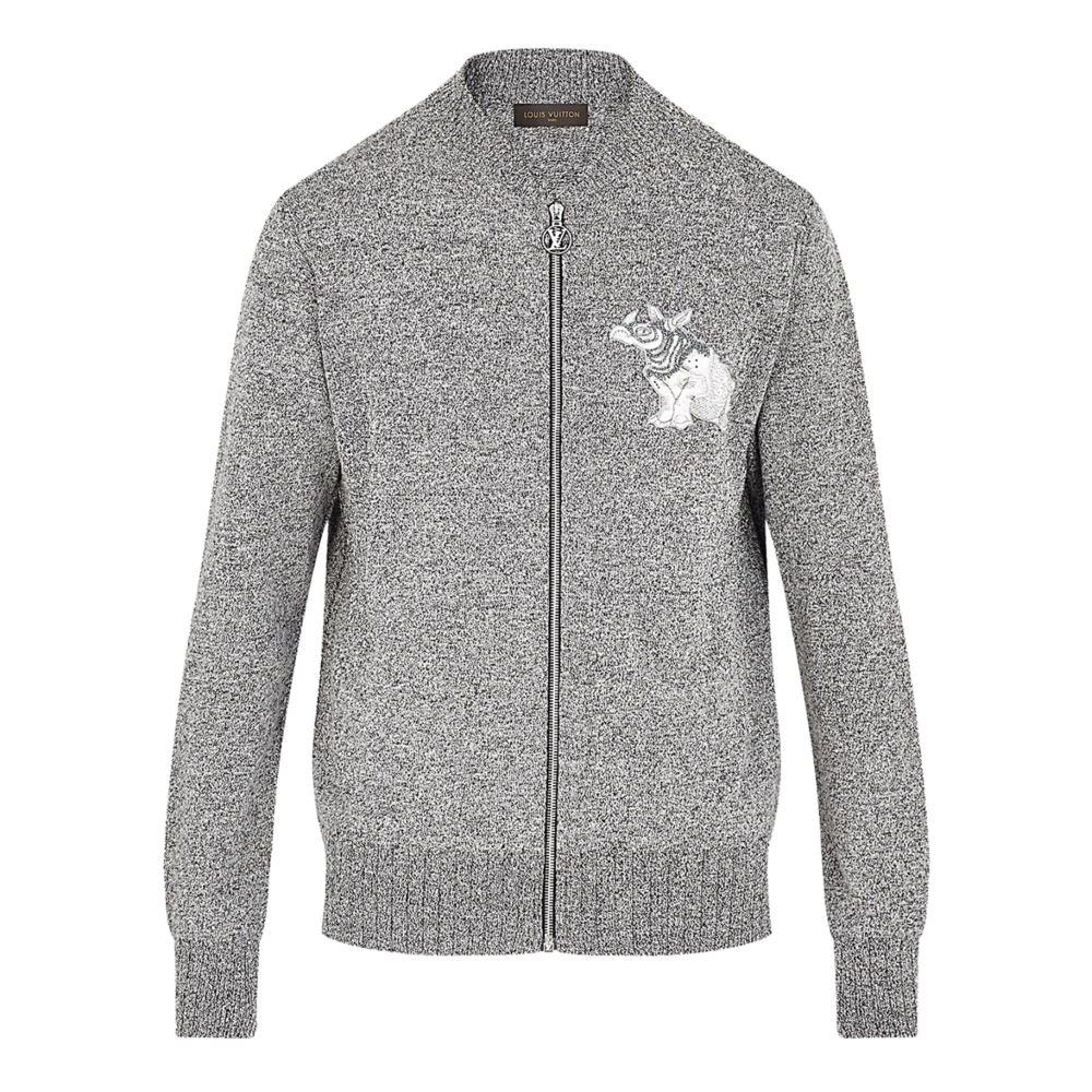 RHINOCERUS PATCH BOMBER - €790 $10301A2H36GRIS CLAIR