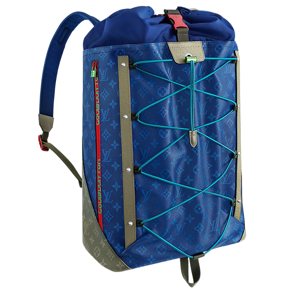 SS 18 BACKPACK OUTDOOR - €2660 $3500M43833MONOGRAM PACIFIC