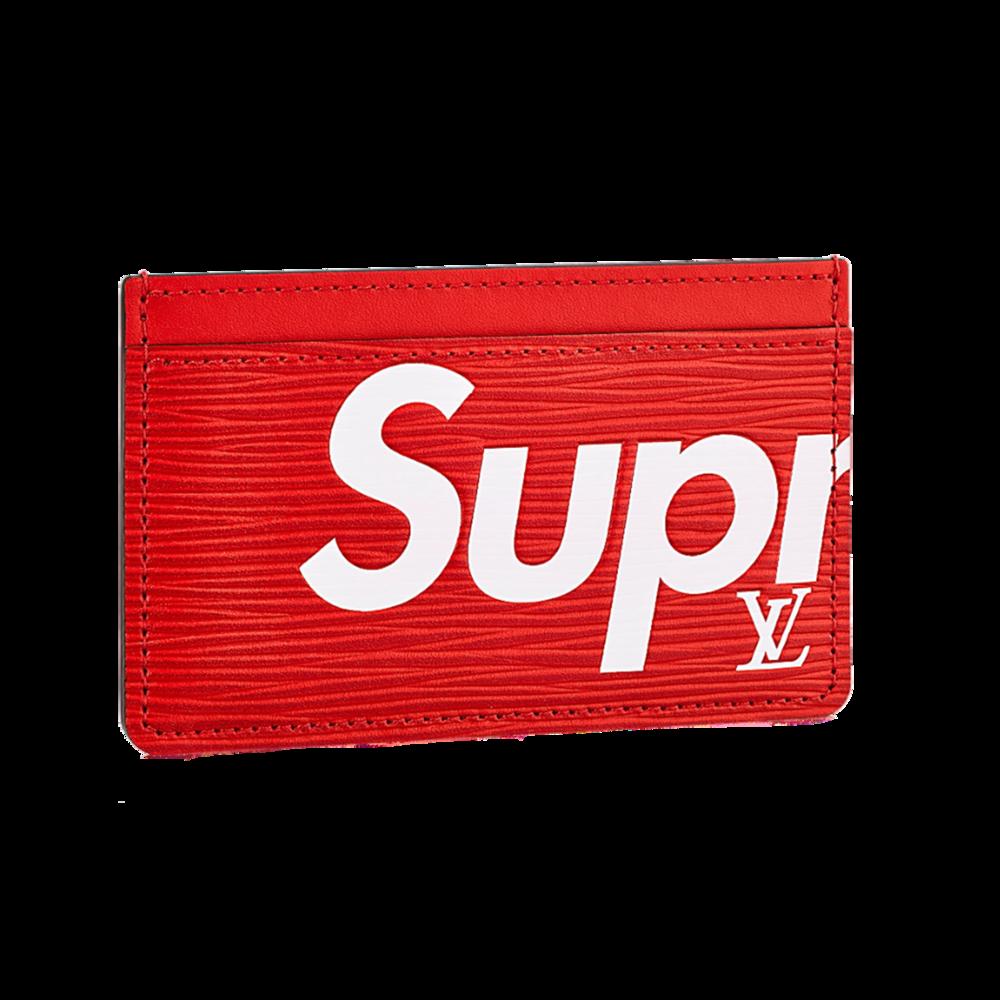 SUPREME PORTE CARTE SIMPLE - €205 $305M67712EPI RED