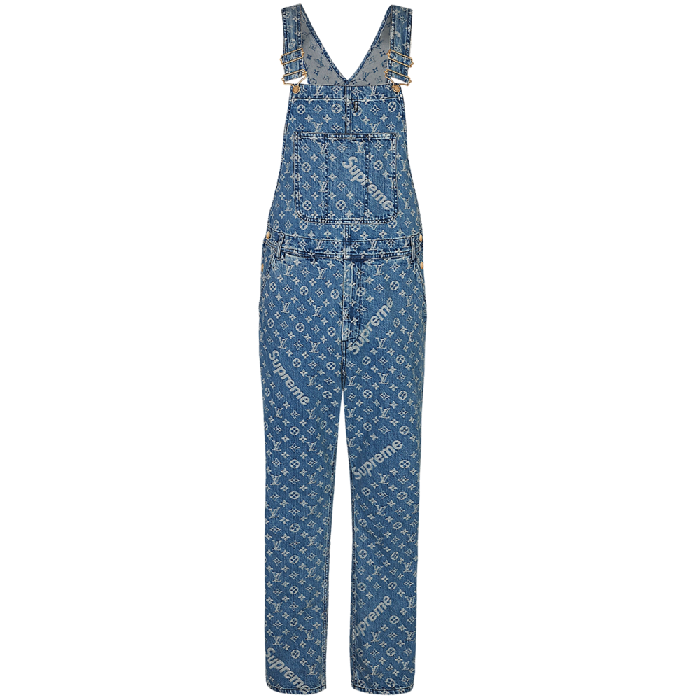 DENIM OVERALLS - €1500 $18701A3F95MONOGRAM DENIM BLUE