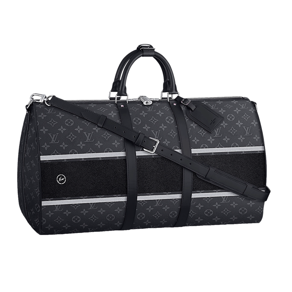 KEEPALL 55B - €1600 $2220M43414MONOGRAM ECLIPSE FLASH