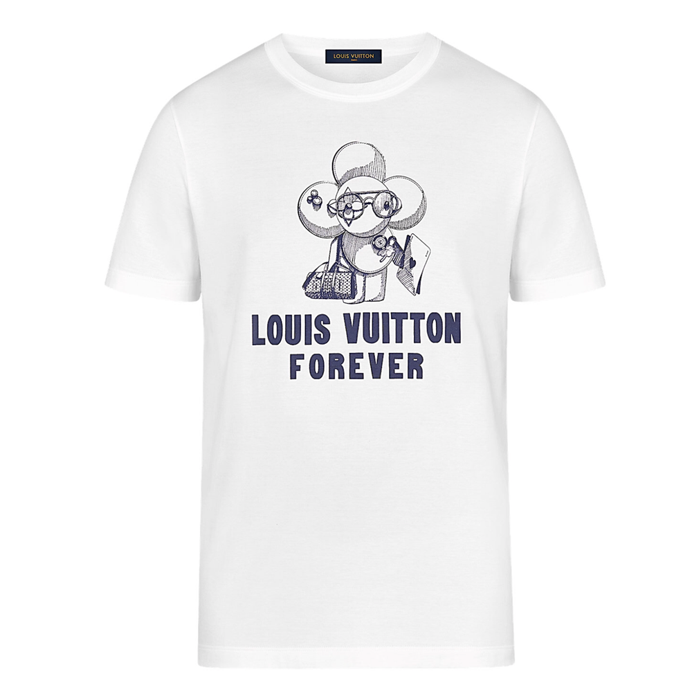 VIVIENNE LOGO TEE POP UP - €450 $6501A47EKWHITE