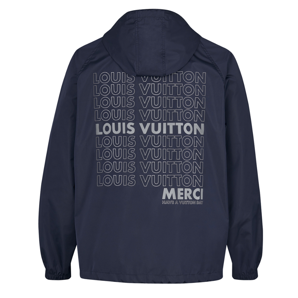 LV LIST GRAPHIC ANORAK - €1900 $27401A4733navy
