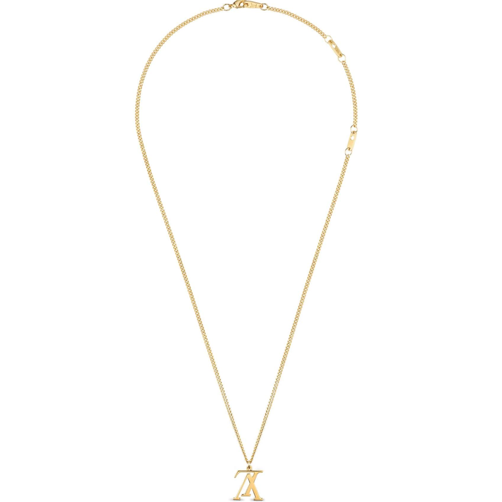 LV UPSIDE DOWN NECKLACE - €225 $330M62682GOLD