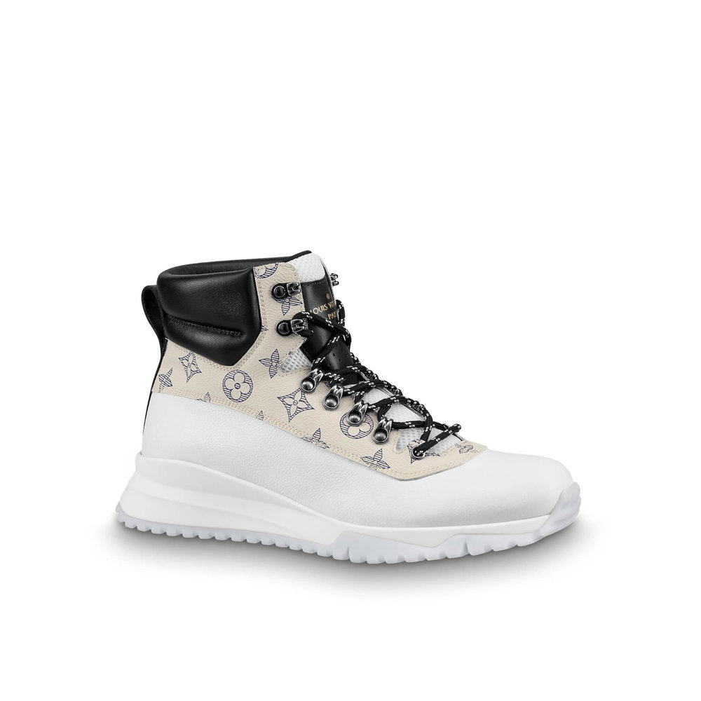 CANYON SNEAKER BOOT - €890 $12301A49GUMONOGRAM DUNE