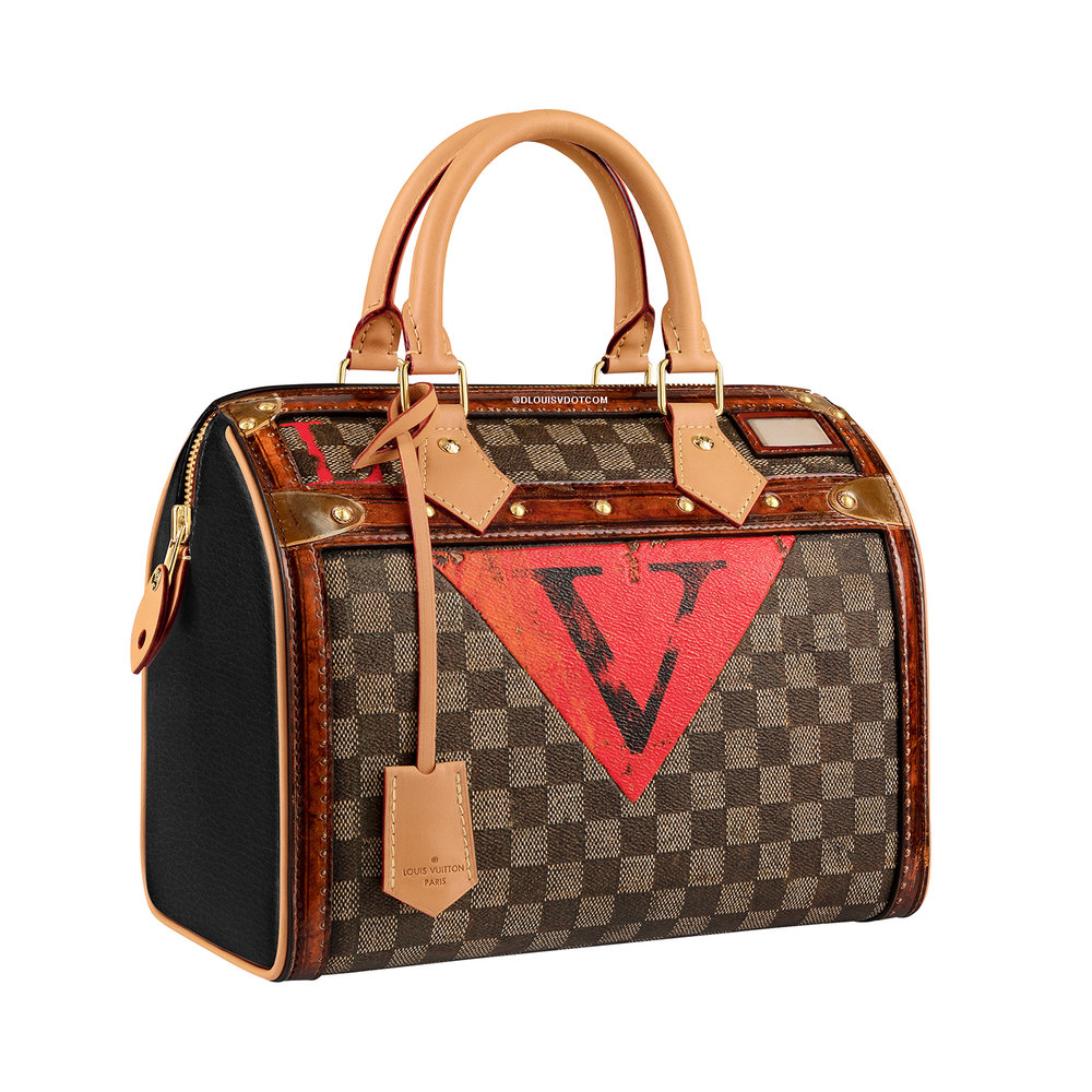 SPEEDY 25 - €1780 $2500M52249DAMIER EBENE TIME TRUNK