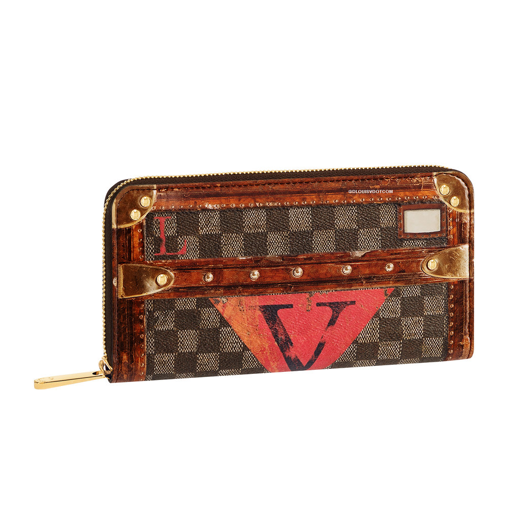ZIPPY WALLET - €700 $1030M63490DAMIER EBENE TIME TRUNK